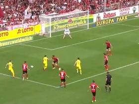 6次触球5脚传球1锤定音,上赛季我们是这样踢弗赖堡的