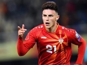 视频 | 埃尔马斯梅开二度,北马其顿2-1斯洛文尼亚