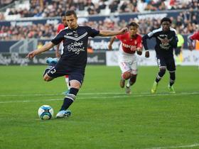 法甲综述:波尔多2-1逆转摩纳哥;马赛2-0图卢兹