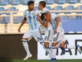 阿根廷新梅西阿尔马达:想到欧洲踢球,玩游戏我总是会选曼城