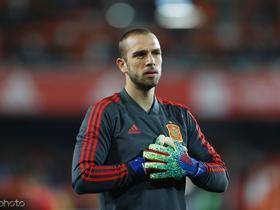 恭喜,保-洛佩斯第一次代表西班牙首发