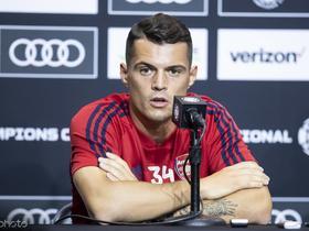 志向远大!扎卡:瑞士国家队有能力赢得世界杯冠军