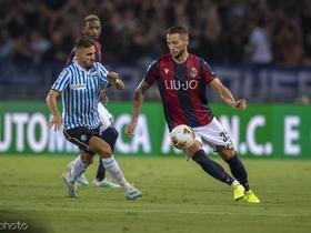 足球市场:米兰想买博洛尼亚左后卫戴克斯取代R罗