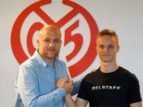 官方:美因茨与德国U19国脚陶尔签下职业合同