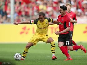 历史战绩占优,多特蒙德过去16场德甲对阵弗赖堡保持不败