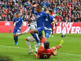 创造历史,霍芬海姆队史首次德甲客场击败拜仁