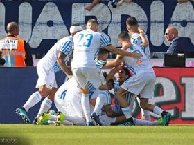 意甲综述:斯帕尔主场1-0击败帕尔马,维罗纳2-0桑普多利亚