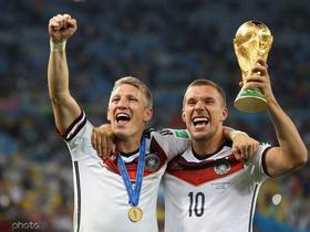波尔蒂祝福施魏因斯泰格:一起赢下世界冠军是我最爱的时刻