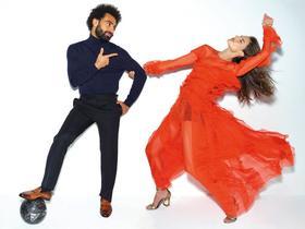 当选GQ中东版年度人物,萨拉赫与巴西名模拍摄写真