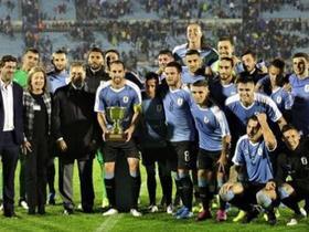 戈丁Ins庆祝胜利:我们对乌拉圭的未来充满信心