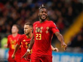 比利时2-0哈萨克斯坦,巴舒亚伊、默尼耶建功,阿扎尔献助攻