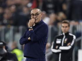 萨里:博洛尼亚最后那球进了也是越位;最后阶段我们做得不好