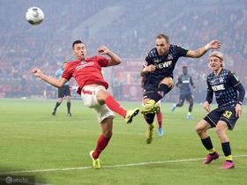 3-1击败科隆,美因茨拿到主场第100场德甲胜利