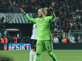 五场零封,卡利乌斯本赛季联赛零封超诺伊尔和特尔施特根