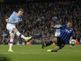 若今晚德布劳内再助攻,他就会成为英超最快达十次助攻的球员