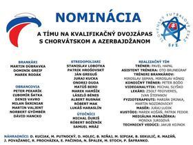 斯洛伐克大名单:哈姆西克和什克里尼亚尔领衔