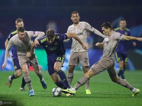 欧冠综述:补时连扳两球,顿涅茨克矿工3-3绝平萨格勒布