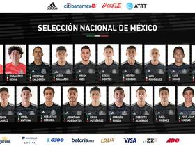 墨西哥大名单:奥乔亚和劳尔-希门尼斯领衔