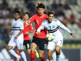 韩国U17不敌墨西哥无缘世少赛四强,第三次止步八强