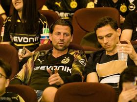 魏登费勒:踢拜仁的时候好多多特球员都在躲藏