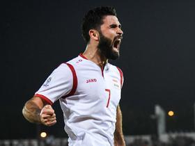 前亚洲足球先生不好惹,火线复出的叙利亚球星赫里宾高光混剪