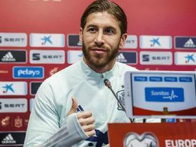 拉莫斯:国家德比的时间安排让皇马吃亏;希望能踢下届世界杯