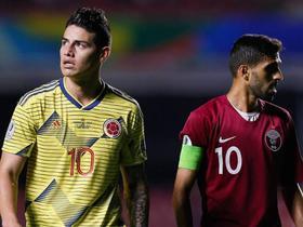 哥伦比亚足协:J罗左膝不适,将缺席对阵秘鲁的比赛