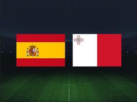 正播西班牙vs马耳他:拉莫斯领衔,莫拉塔、卡索拉首发出战