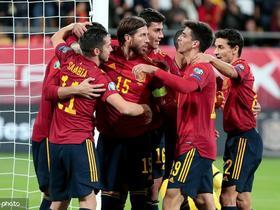 西班牙7-0狂胜马耳他,莫雷诺三传一射,莫拉塔、卡索拉建功
