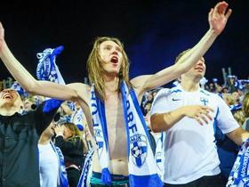 112年首次杀入国际大赛正赛,芬兰球迷举国狂欢彻底陷入疯狂