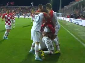 克罗地亚3-1逆转斯洛伐克小组出线,佩里西奇锁定胜局