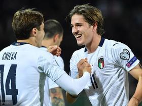 超越德罗西,扎尼奥洛成为罗马队史最年轻的意大利队进球球员