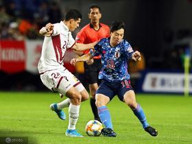 日本1-4不敌委内瑞拉,龙东半场戴帽,山口萤破门
