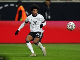 上演帽子戏法,格纳布里当选德国对阵北爱尔兰比赛最佳球员