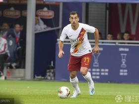 罗马三将恢复训练,姆希塔良和斯皮纳佐拉可能在欧联杯中复出