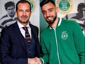 官方:布鲁诺-费尔南德斯与葡萄牙体育续约
