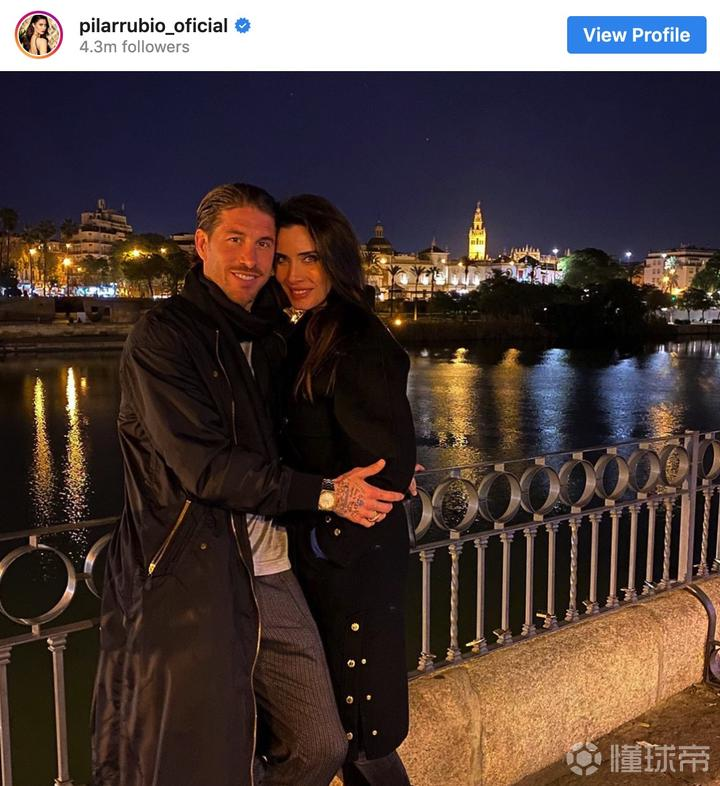 再添一子?外媒:皇马中后卫拉莫斯妻子已经怀孕12周