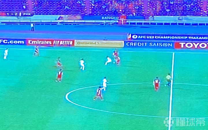U23亚锦赛,朝鲜队与越南队的比赛,攻防节奏之快...
